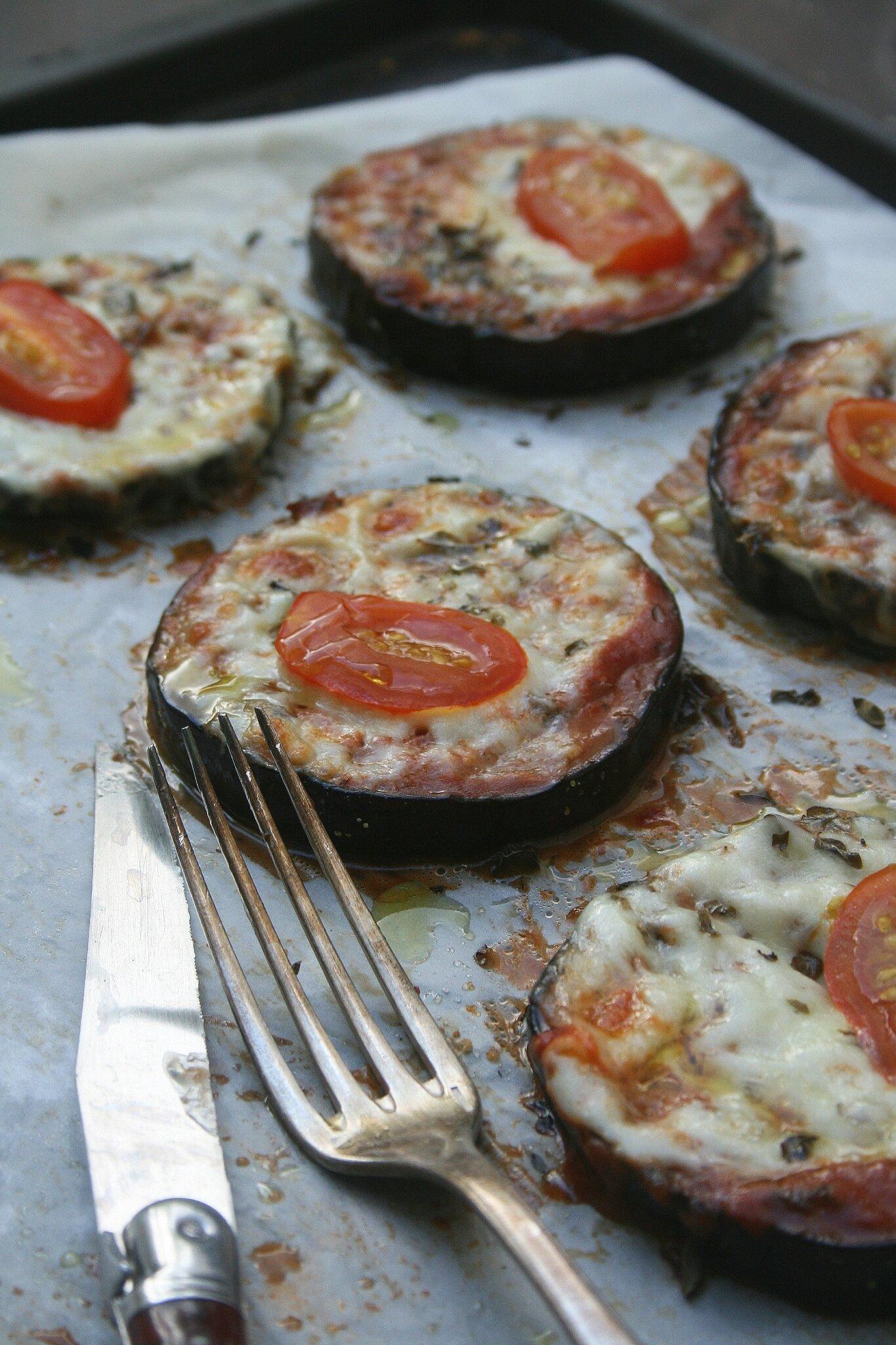 Aubergines façon pizza - Passion culinaire by Minouchka
