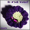 ° sc n°148 : violet et jour des fleurs °