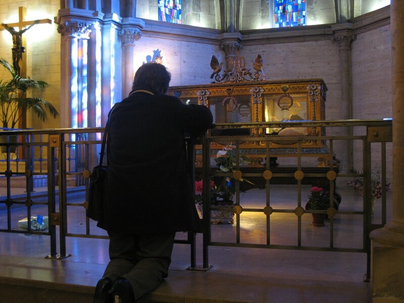Nevers, couvent Saint-Gildard, sainte Bernadette