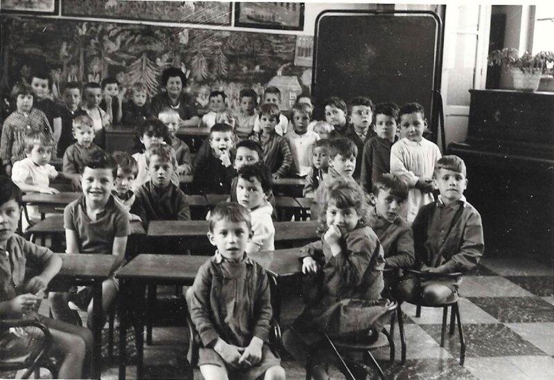 TRELON-Ecole Maternelle 1963