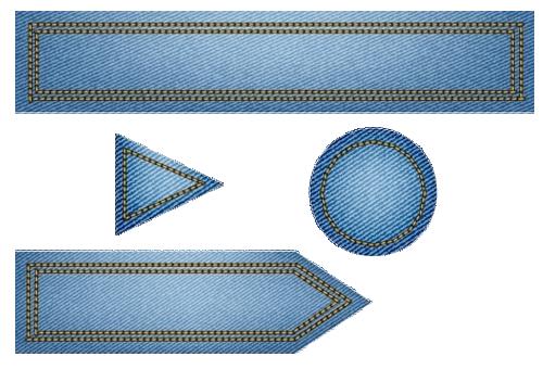 flèches en jeans 2