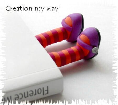 Gambettes En Pate Fimo En Veux Tu En Voila Creation My Way