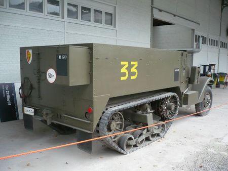WHITE MOTOR COMPANY Halftrack M3 Bruxelles Musée de l'Armée (2)