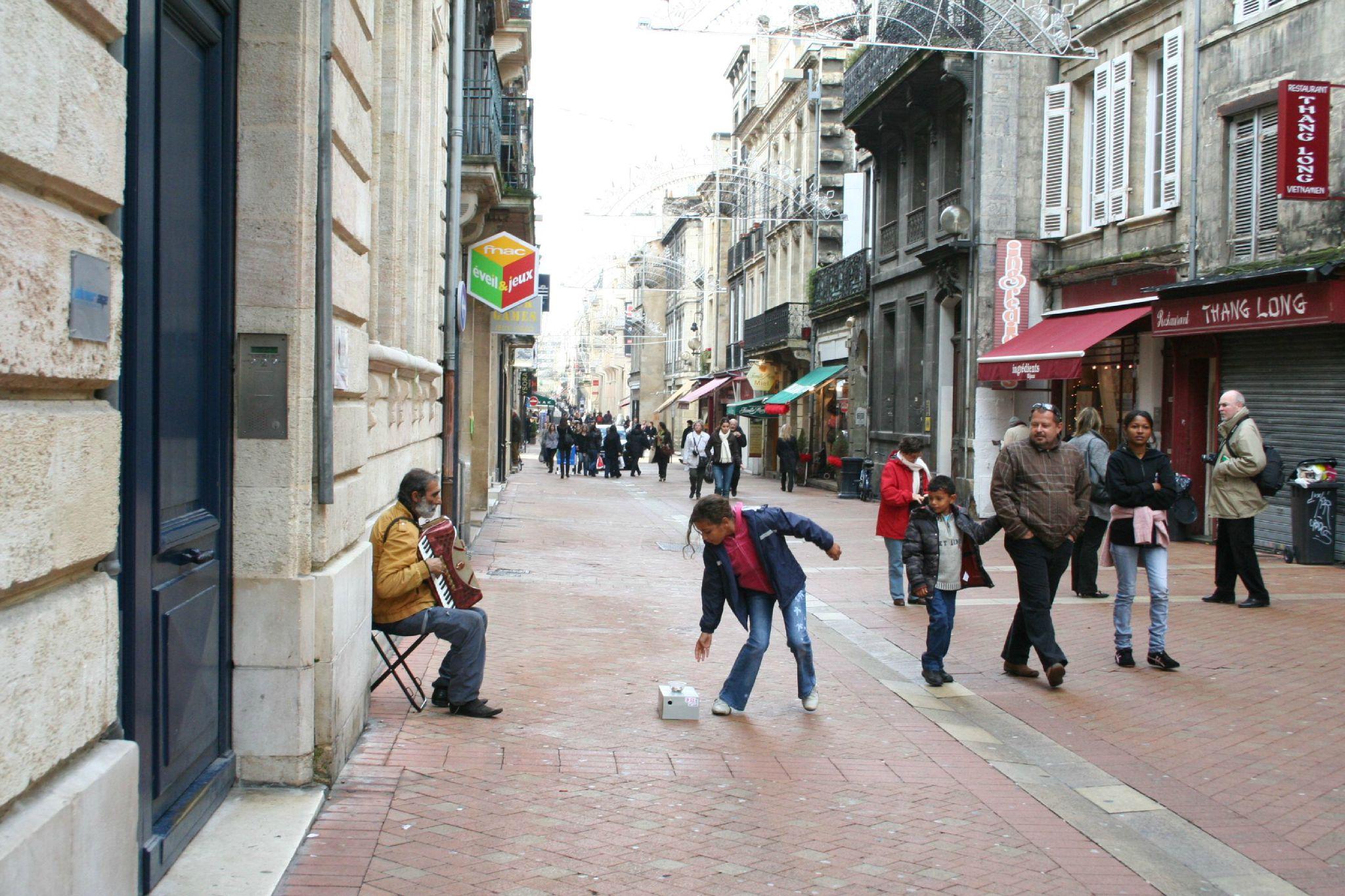 rue des trois Conils / décembre 2009