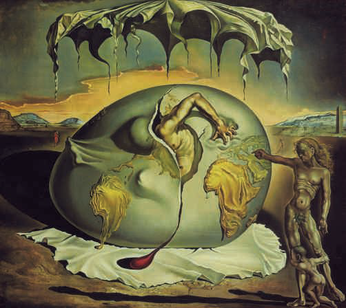 Salvador Dalí, Geopoliticus Child Watching the Birth of the New Man, 1936