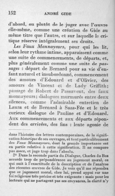 Ramon Fernandez Gide Faux-Monnayeurs (4)