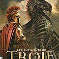 Les survivants de troie, livre 1, le prince sans couronne, écrit par michel honaker