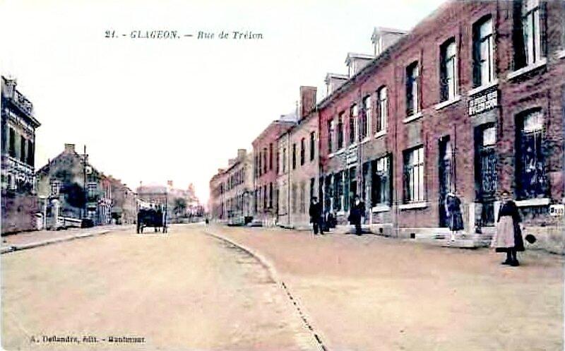 GLAGEON-Rue de Trélon