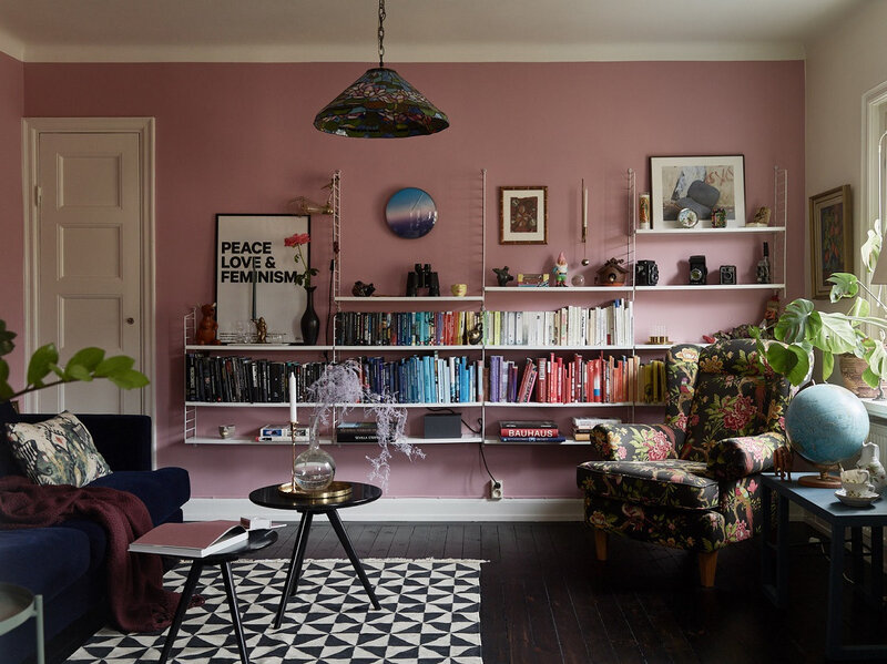 The+Nordroom+-+A+Vibrant+Pink+and+Blue+Apartment