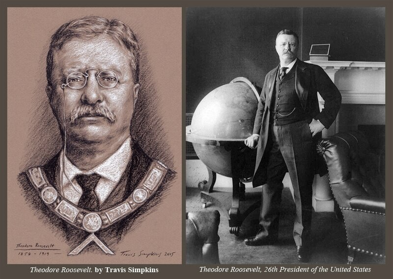 Theodore-Roosevelt-Freemason-US-President-1858-1919-by-Travis-Simpkins-World-Globe