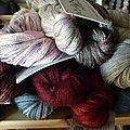 Manos lace et vintage silk karen noe