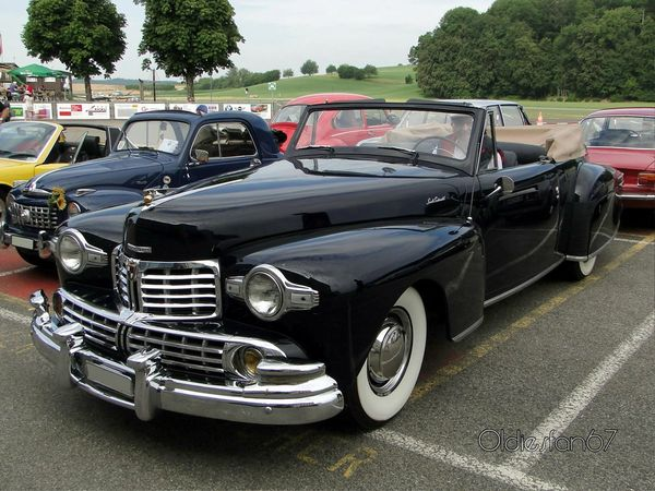 lincoln continental v12 cabriolet 1947 1948 a