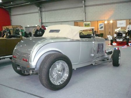 FORD Model B Hot Rod roadster 1932 Besançon (2)