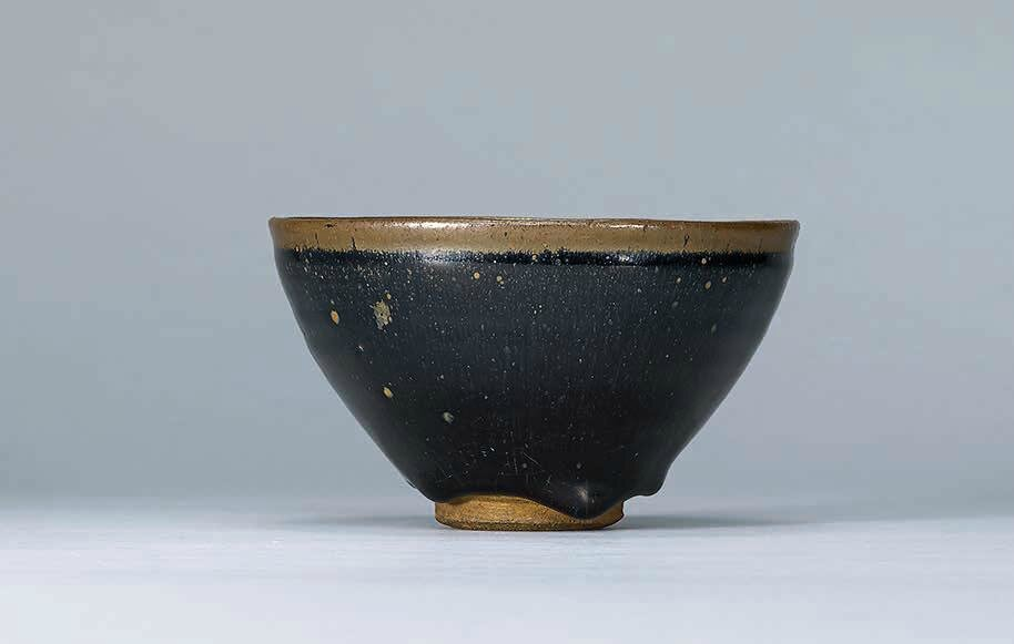 A Jian 'Hare's Fur' bowl, Southern Song dynasty (1127–1279) (2)