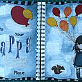 Art journal - happy