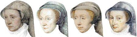 Chaperon des années 1550