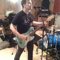 Mark hoppus is in the studio