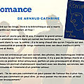 Romance, de arnaud cathrine