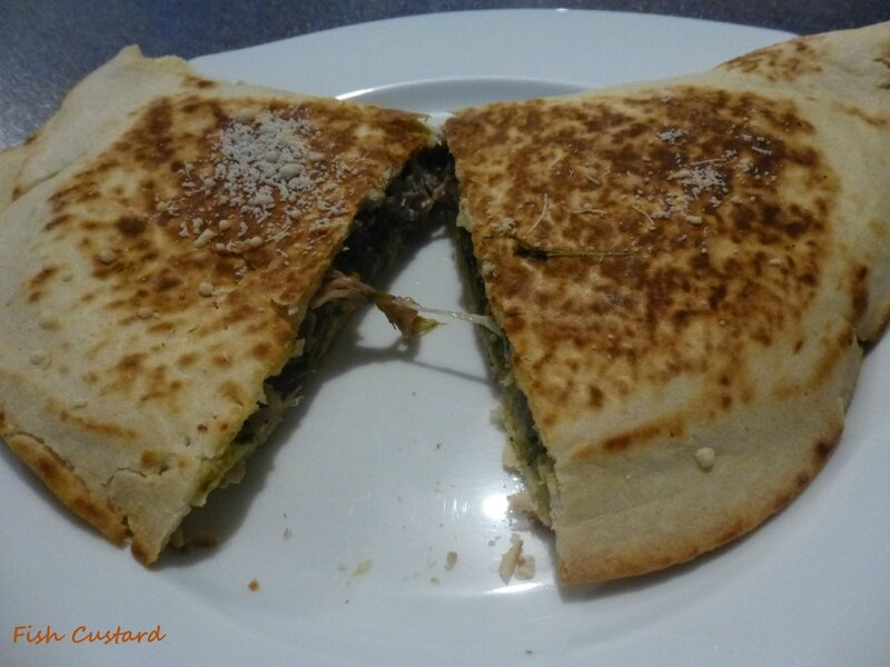 Piadina pancette épinards parmesan (5)