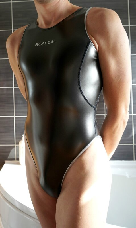 rubber swimsuit by realise