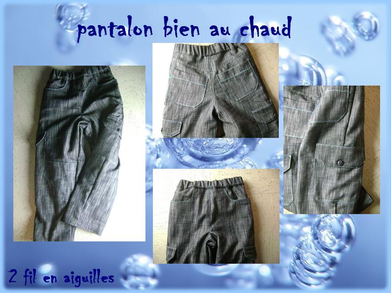 pantalon polaire janvier 2013