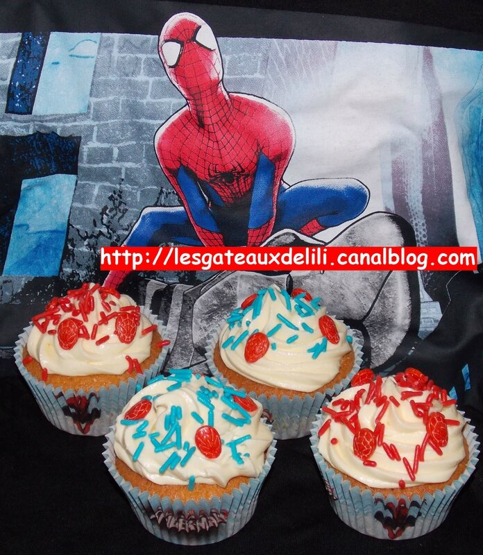 2014 05 25 - cupcakes spiderman (2)