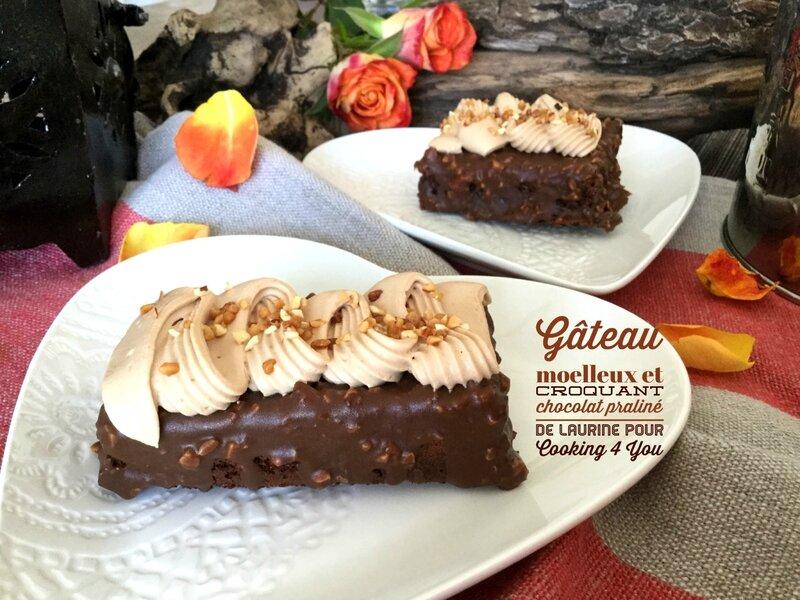gâteau moelleux choco pralin 069