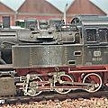 letraindemanu (1036b) patine locomotive à vapeur Br 80 Märklin 3604