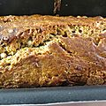 Banana bread aux 2 chocolats