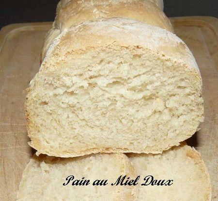 Intérieur du pain au Miel Doux