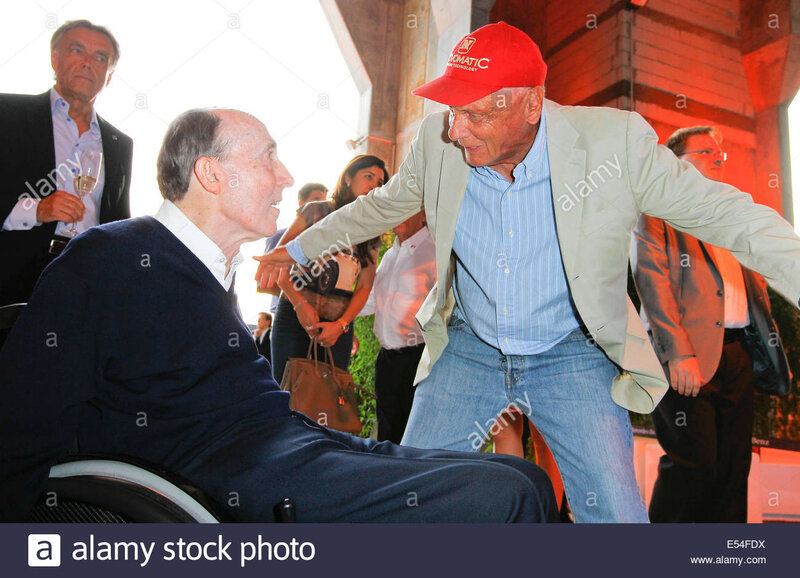 NIKI LAUDA AND FRANK 1