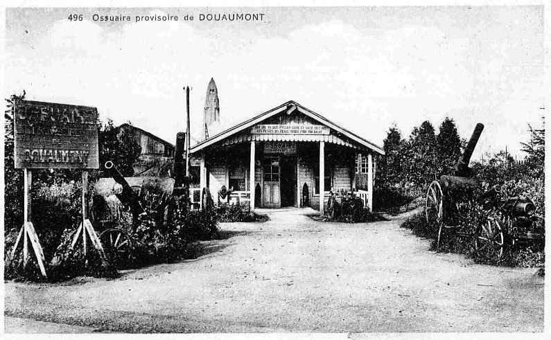 ossuaire provisoire Douaumont