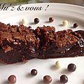 Le gâteaux au chocolat fondant de camille