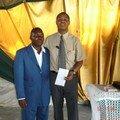 Thierry et le pasteur Zack