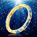 Matière commune pour créer bijoux brillants