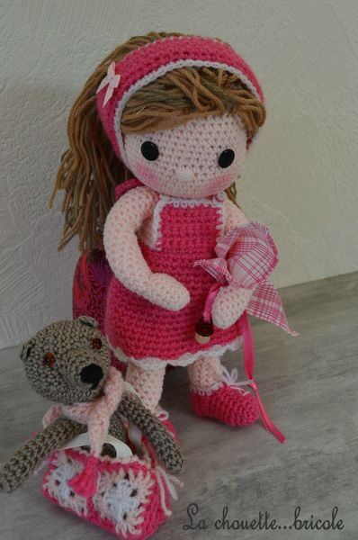 poupée crochet lolita