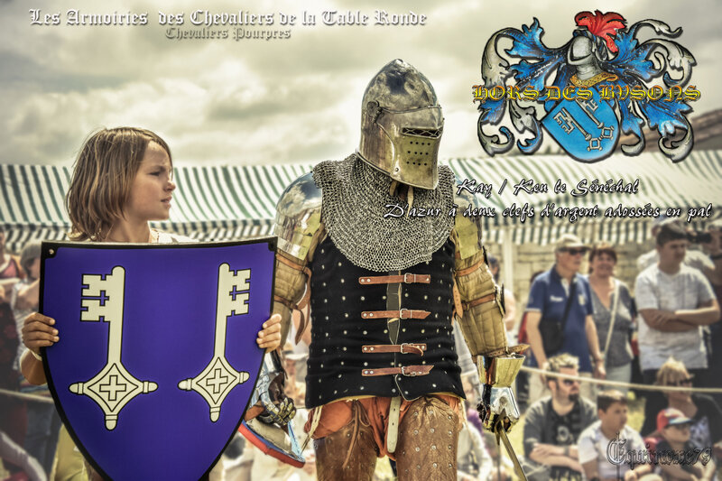 les Armoiries des Chevaliers Table Ronde Keu - Chevaliers Pourpres