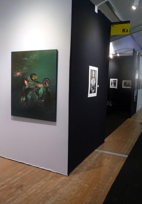 Slick.Stand galerie Estace. Oct 2010
