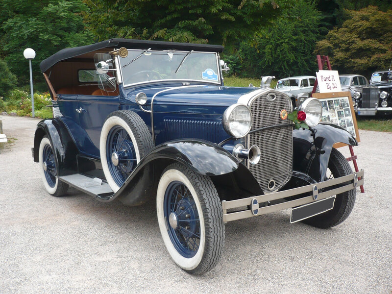 FORD Model A 2door phaeton 1930 Baden Baden (1)