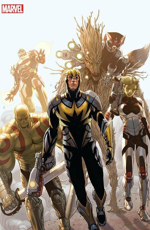 iron man 14 guardians & rocket t-shirt variant