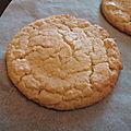 Cookies à la farine de maïs 009