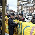 Hollande cameron à amiens 3 mars 2016 : les forces de répression comme seule réponse