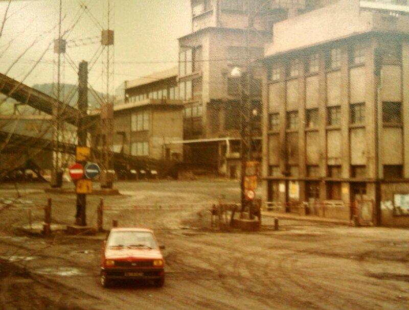 8-entré principale du Puit Pigeot 1986