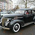 Chevrolet master deluxe town sedan 1939