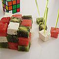 Rubik's cube pour votre brunch