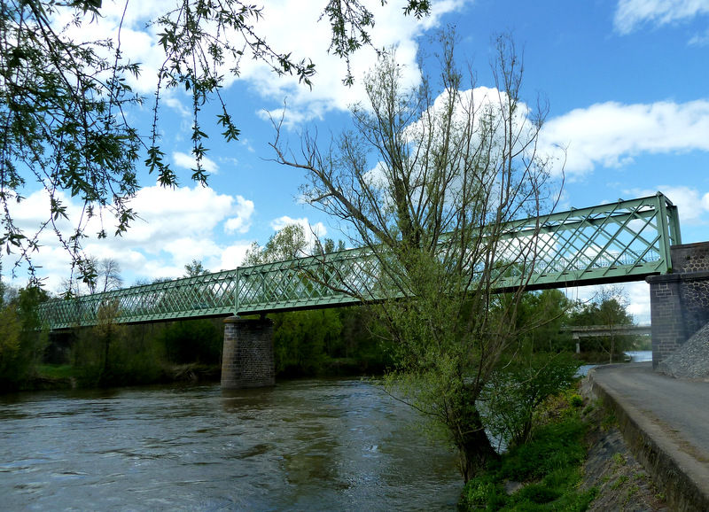 pont métallique de Dallet