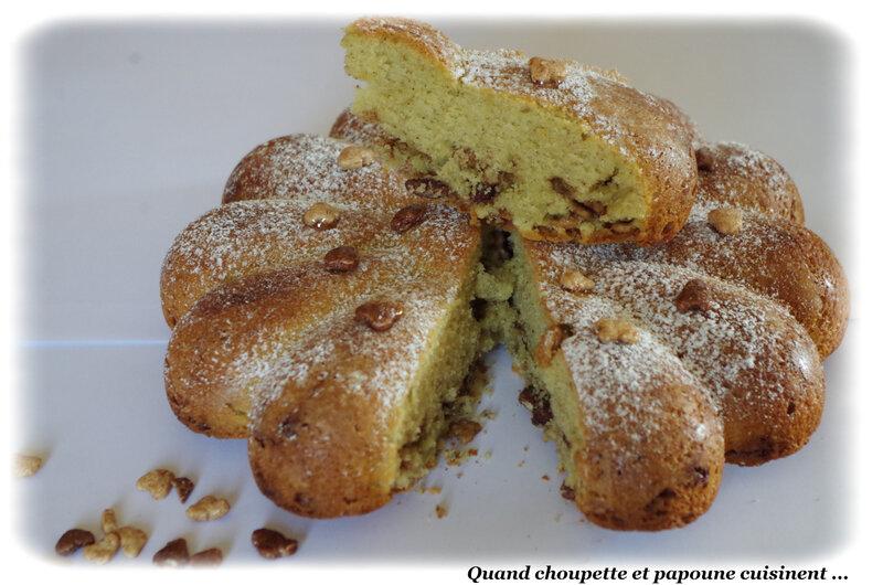 gâteau maison à la pistache et aux céréales Lion-8607