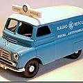 Bedford Van 1-43 Corgi Radio Rescue RAC A