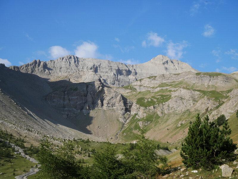 Mont Pelat, face nord