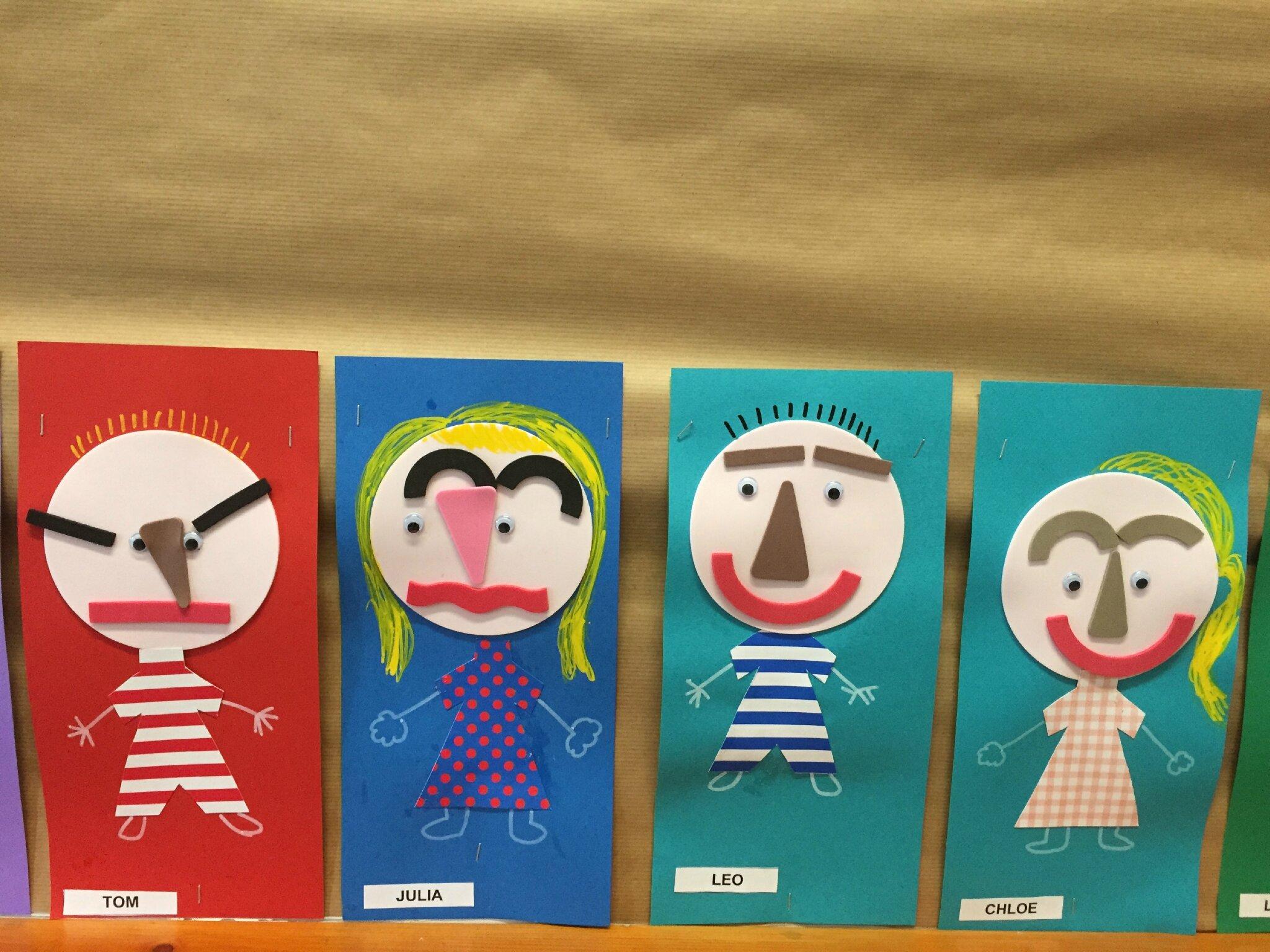 Bien-aimée Etiquettes porte-manteaux portraits - Flo à la maternelle @ZL_86